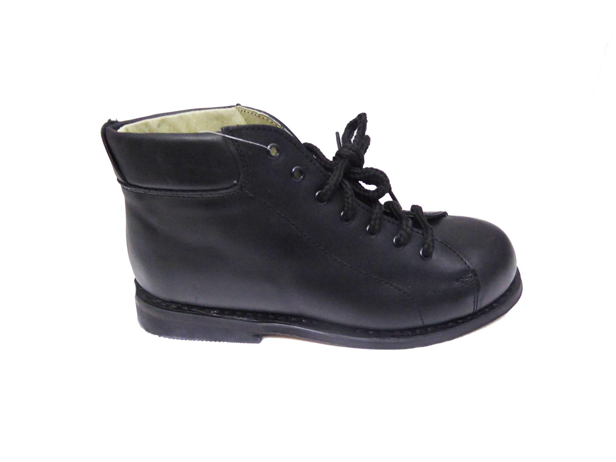 Recta Co Zapatos 9066 Negro Hombre Pie Ortopédicos Horma BordCxe
